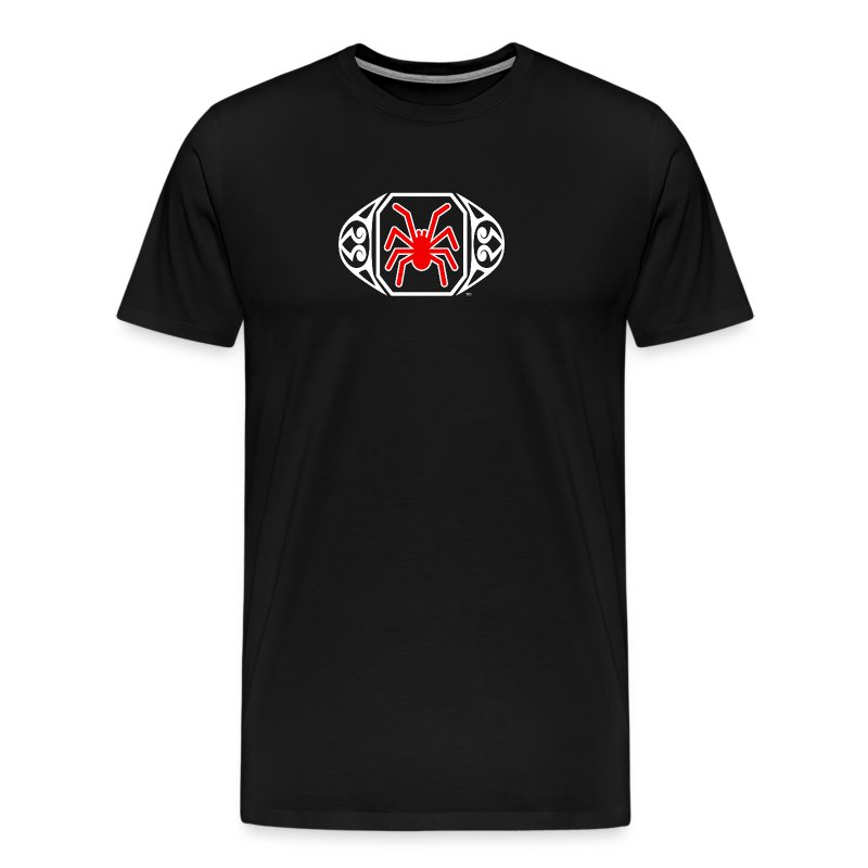The Spider Ring Tee (3XL) - Men's Premium T-Shirt