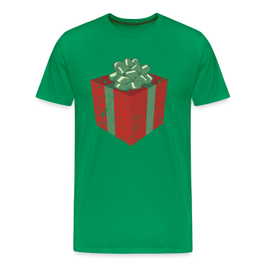 Vintage Christmas Present and Holiday Gift Package T-Shirts