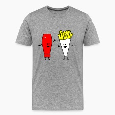 french fries ketchup T-Shirts