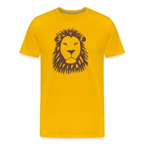 animal t-shirt lion tiger cat king animal kingdom africa predator simba strong hunter safari wild wildcat bobcat panther cougar - Men's Premium T-Shirt