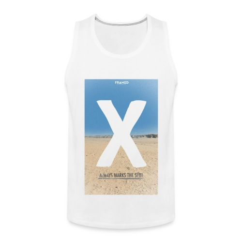 X Marks the Spot Tank - Men's Premium Tank