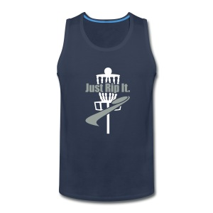 Men's Just Rip It Disc Golf Tank - Men's Premium Tank