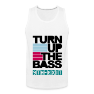 Tank Tops ~ Men's Premium Tank Top ~ Turn Up The Bass Tank