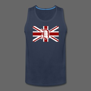 Detroit British Flag - Men's Premium Tank