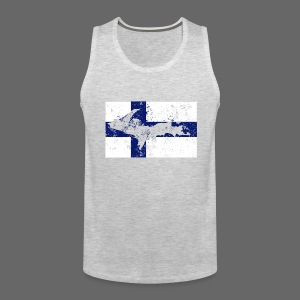 Finnish Flag U.P. - Men's Premium Tank