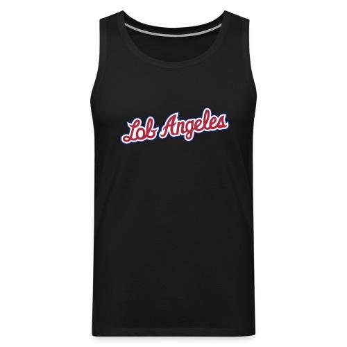 Lob Angeles Unisex Tank Top - Lob City - Clippers - Men's Premium Tank