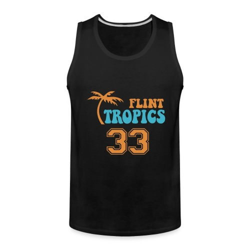 FLINT TROPICS Jersey Tan Top - Men's Premium Tank