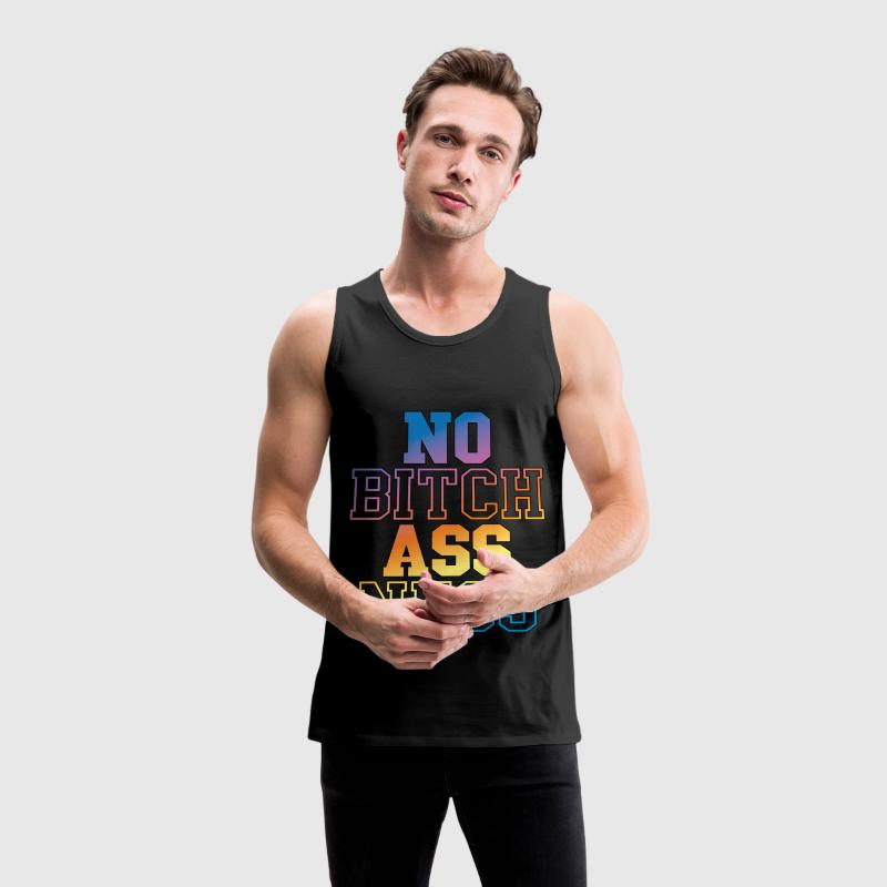 KP's No Bitch Ass Ness (Color) - Tank Top - Men's Premium Tank