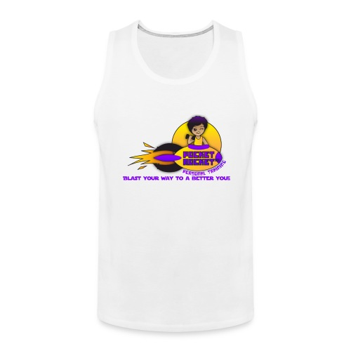 pocketrocketlogob - Men's Premium Tank