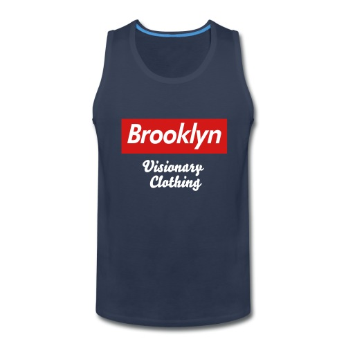 Brooklyn Reigns Supreme . - Men's Premium Tank