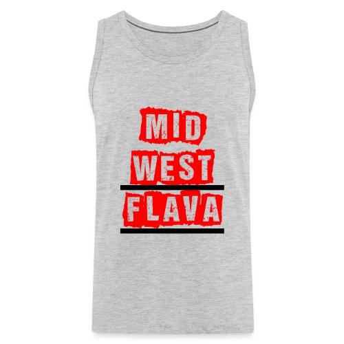 Mid west Flava - Men's Premium Tank