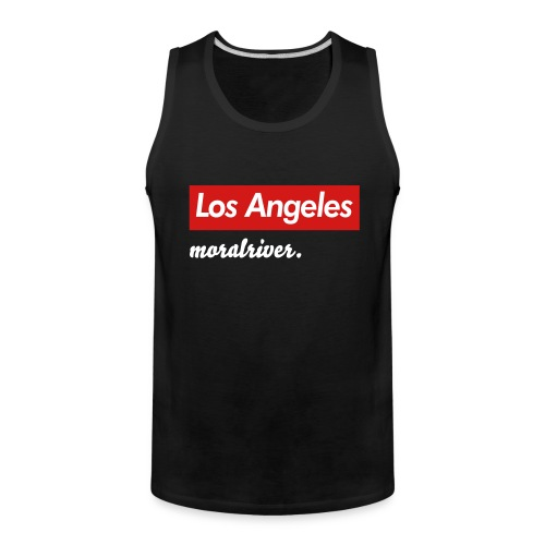 Los Angeles Moral River Men's Tank - Men's Premium Tank