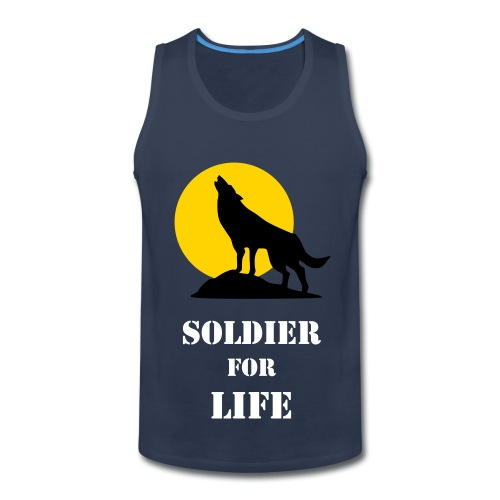 Mens Soldier For Life - Men's Premium Tank
