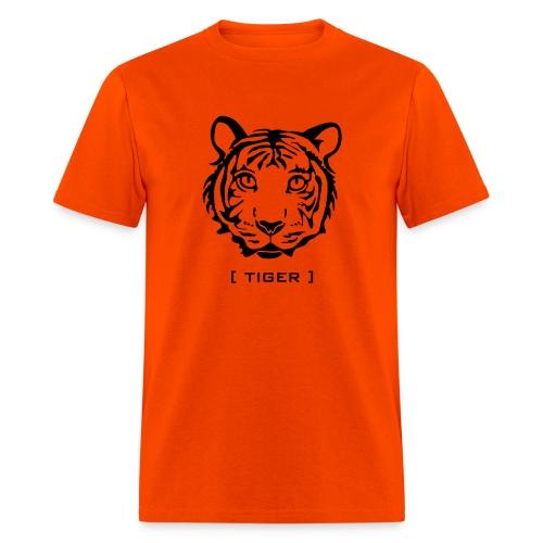 t-shirt tiger wild cat predator hunter hunting animal lion cheetah - Men's T-Shirt