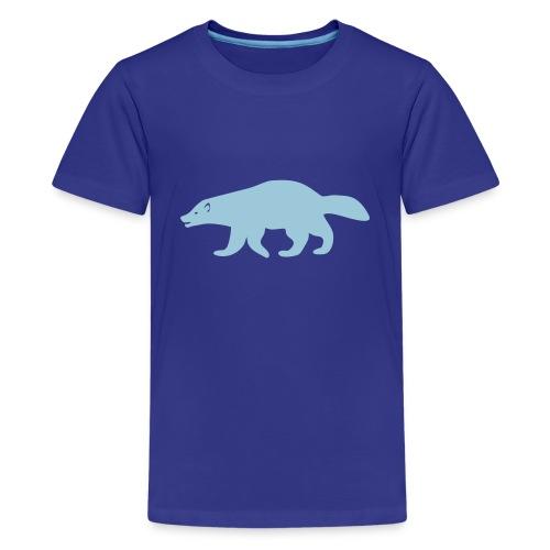 t-shirt wolverine glutton hog cormorant gannet eat greedy animal - Kids' Premium T-Shirt