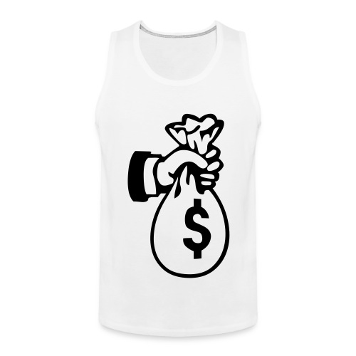 Bag of Money Tanktop - Men's Premium Tank