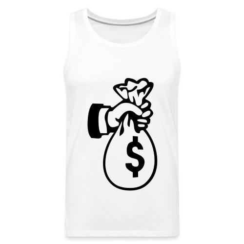 Bag of Money Tanktop - Men's Premium Tank