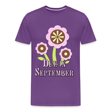 Due in September Expectant Mother T-Shirts