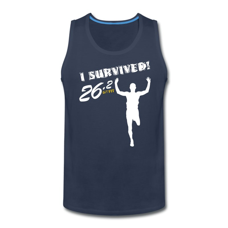I Survived! 26.2 - Men's Premium Tank