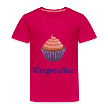 Pink and Purple Cute Cupcake Toddler T-Shirt