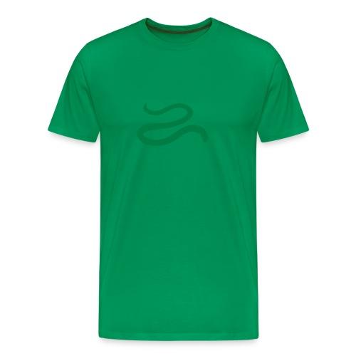 t-shirt snake worm blind slow adder viper desert reptile animal - Men's Premium T-Shirt