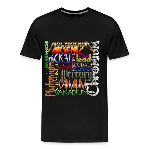 Heavy Metals - Men's Premium T-Shirt