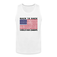 Sportswear ~ Men's Premium Tank ~ Back-to-Back World War Champs (Tank)