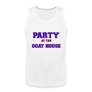 Party at the Goat House Tanktop Sleeveless Shirt - Men's Premium Tank
