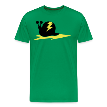 snail with lightning bolt T-Shirts