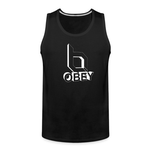Men's Premium Tank - obeyalliance,obey agony,obey,Obey Clan