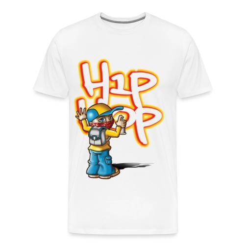 (Mens) (World Premiere) That's_HipHop (T-Shirt) - Men's Premium T-Shirt