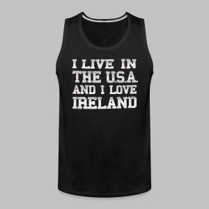 Live In USA Love Ireland - Men's Premium Tank