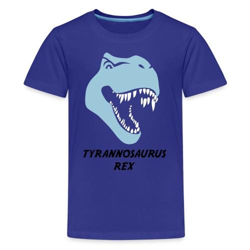 animal t-shirt tyrannosaurus rex t-rex  dino dinosaur jurassic raptor - Kids' Premium T-Shirt
