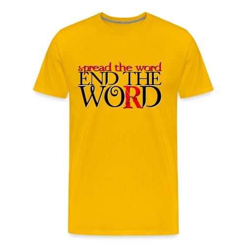 End the R-Word - Men's Premium T-Shirt