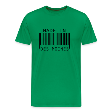 Made in Des Moines T-Shirts