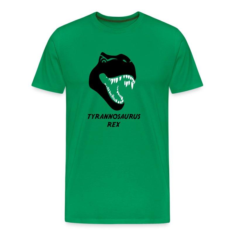 animal t-shirt tyrannosaurus rex t-rex  dino dinosaur jurassic raptor - Men's Premium T-Shirt