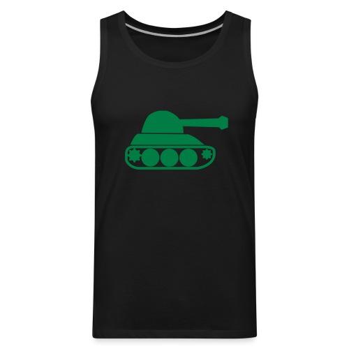 Tank top-black - Men's Premium Tank