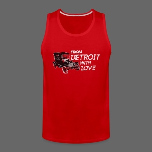 From Detroit With Love - Men's Premium Tank