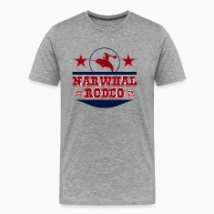 Narwhal Rodeo (trans) T-Shirts