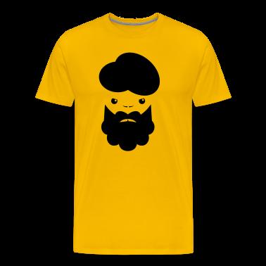 TURBIN MAN with beard angry T-Shirts