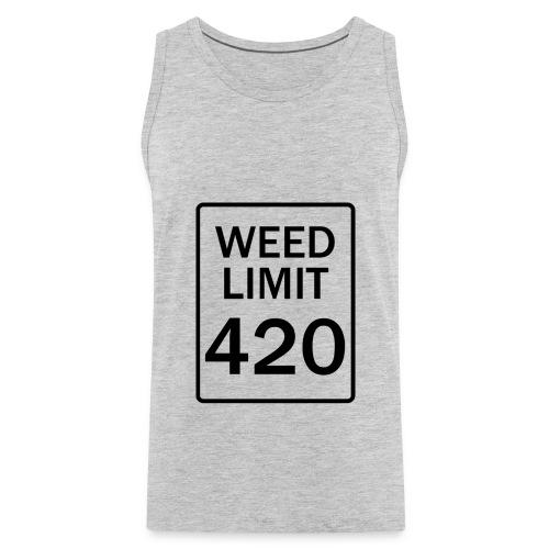 Weed Limit  - Men's Premium Tank