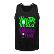 Tank Tops ~ Men's Premium Tank Top ~ Kush Rolled Glass Full Tank