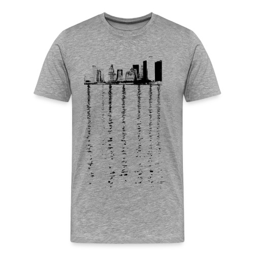 City skyline - Men's Premium T-Shirt