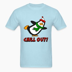Chill Out Penguin Chilly Willy T-Shirts