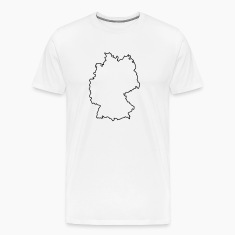 germany outline T-Shirts