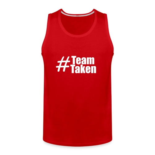Team Taken Tank Top Red | #TeamTaken - Men's Premium Tank
