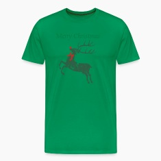 Vintage Christmas Rudolph Reindeer  T-Shirts