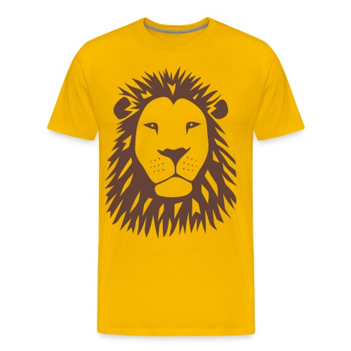 animal t-shirt lion tiger cat king animal kingdom africa predator simba strong hunter safari wild wildcat bobcat panther cougar - Men's Premium T-Shirt