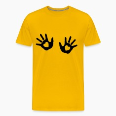 baby - hands - handprint - heart T-Shirts