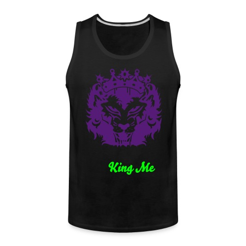 King of The Jungle  - Men's Premium Tank